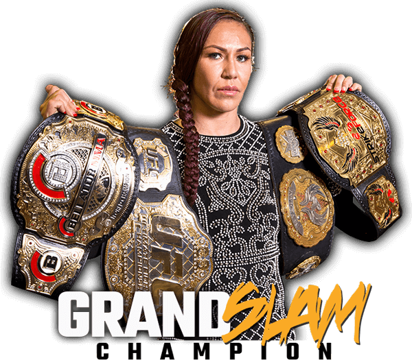 cris cyborg with belts
