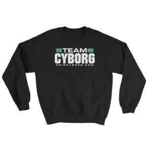 "Sweatshirt – ""Team Cyborg & Chute Boxe"" – Black"
