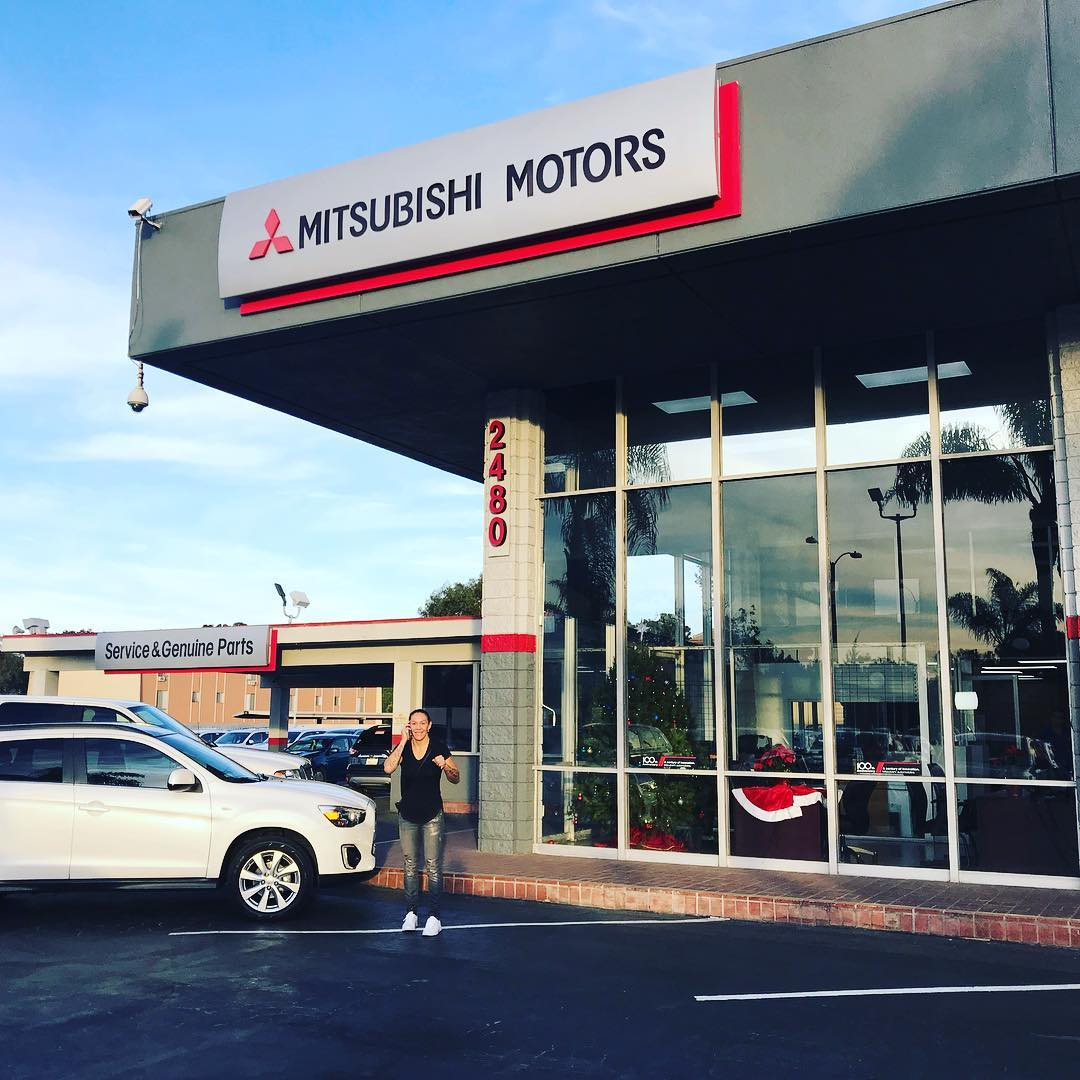 you can buy cris cyborg's old car starting today at south coast