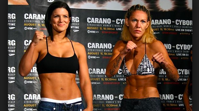 Cris Cyborg Vs. Gina Carano Rematch announced for UFC 226