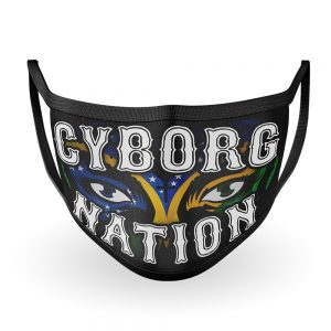"Cris Cyborg ""Cyborg Nation"" Cloth Face Mask – new ""Brasil Edition"""