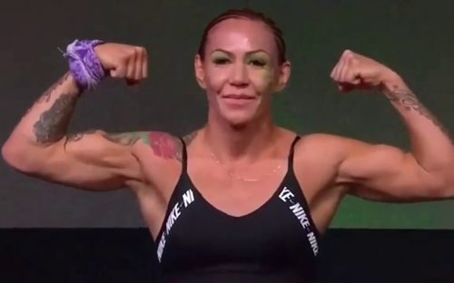 Cris Cyborg Bellator 249 weigh ins